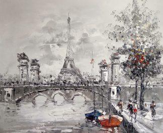 «Эйфелева башня» картина 50х60 арт.5м157