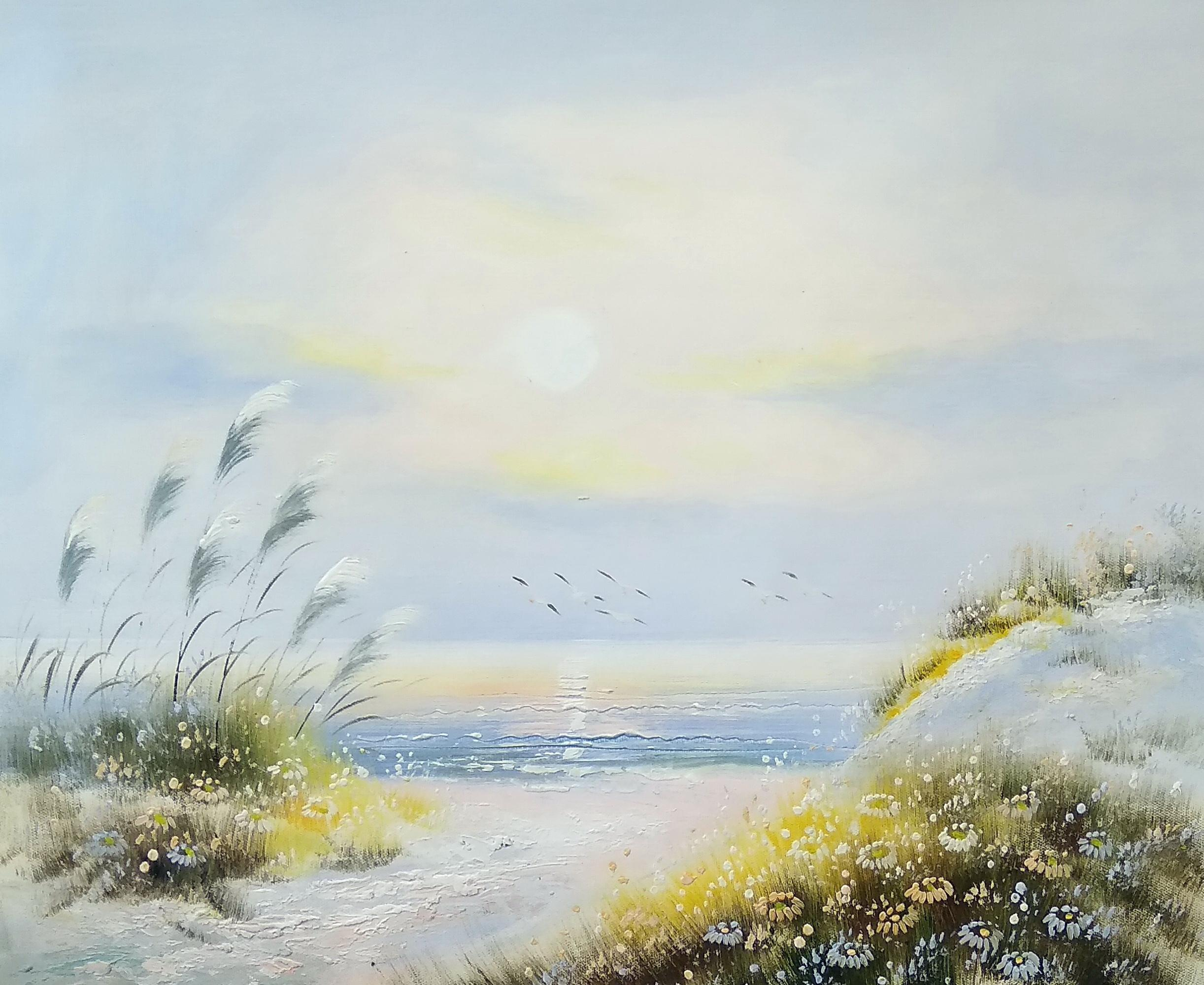 «Морской пейзаж» Картина 50х60 арт. П155