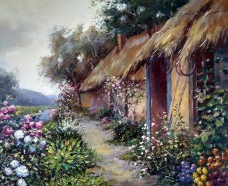 «Палисадник» картина 50х60 арт.5п160
