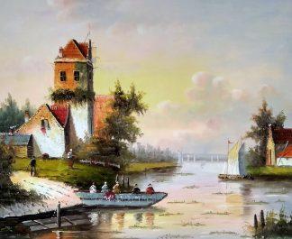 «Пейзаж» картина 50х60 арт.5п162