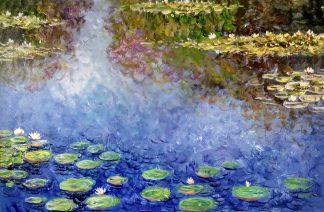 «Пруд Моне» картина 60х90 арт.9п011