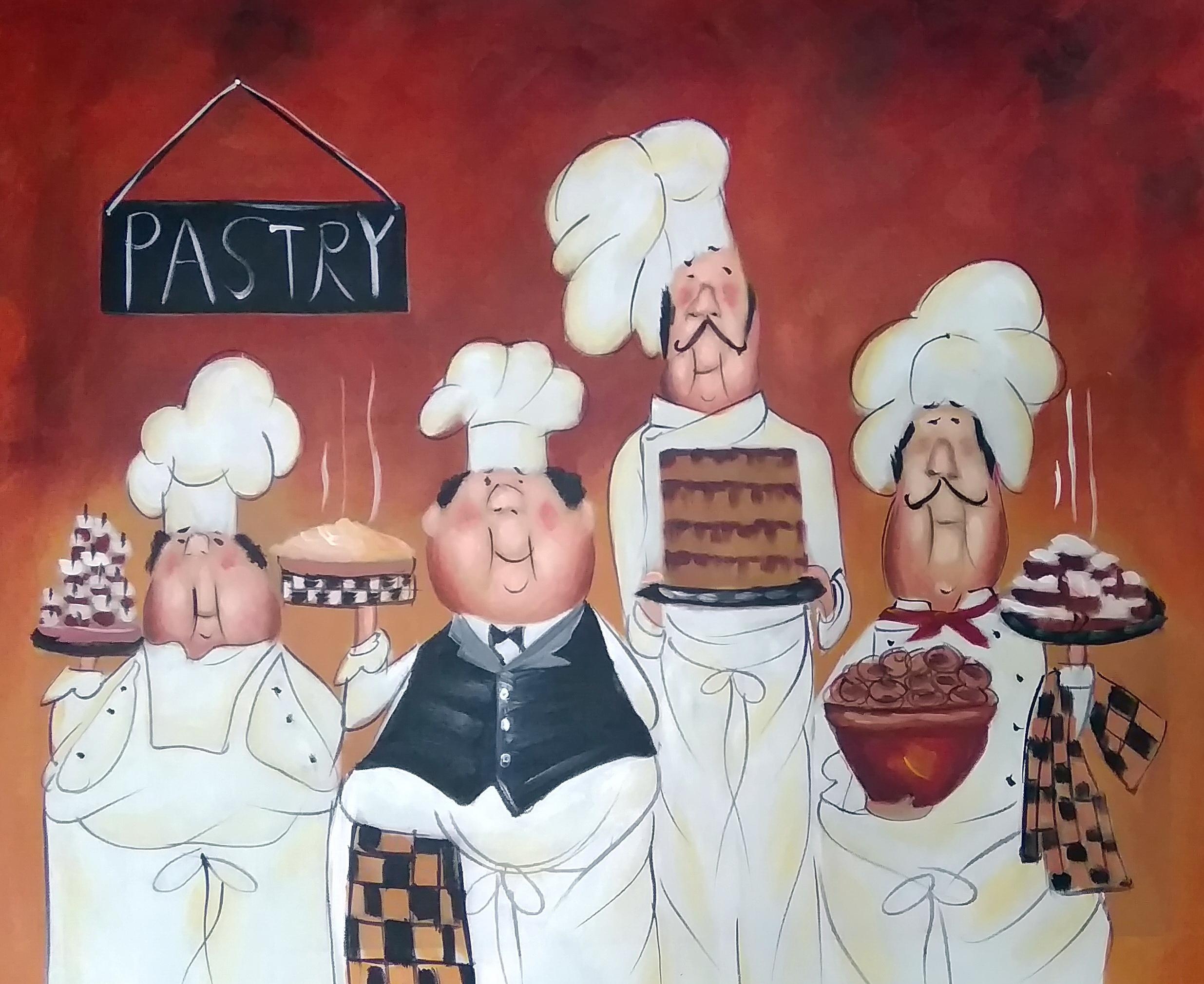 «Pastry» Картина 50х60 арт. Р150