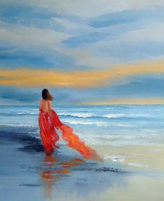 «В ожидании солнца» Картина 50х60 арт. 5Р152