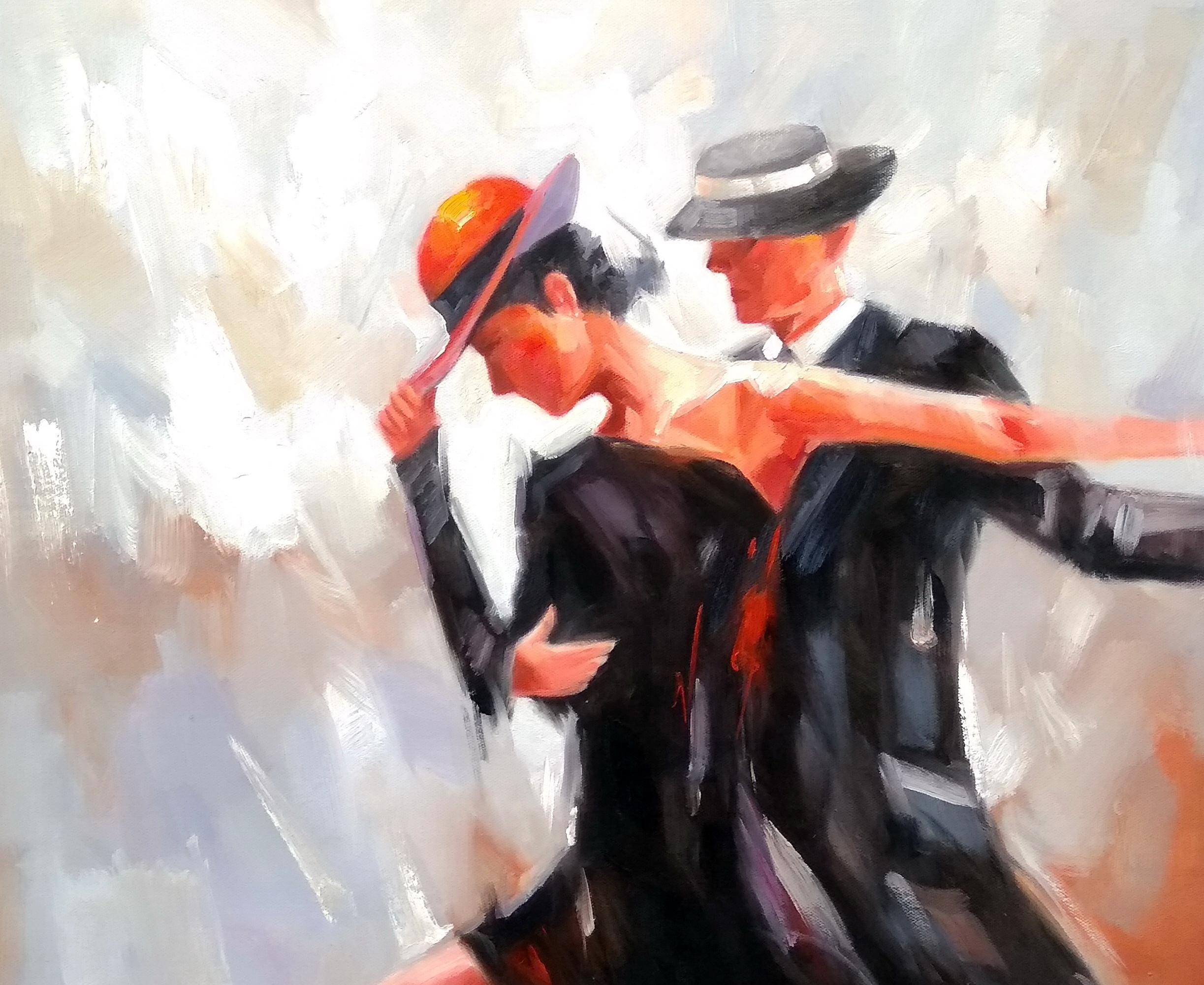 «В танце» Картина 50х60 арт. Р154