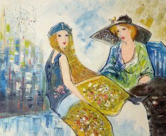 «Женщины» картина 50х60 арт.5р161