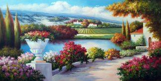 «Прованс» Картина 60х120 арт. Р004