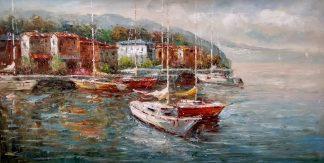 «Южный берег» Картина 60х120 арт. Р005