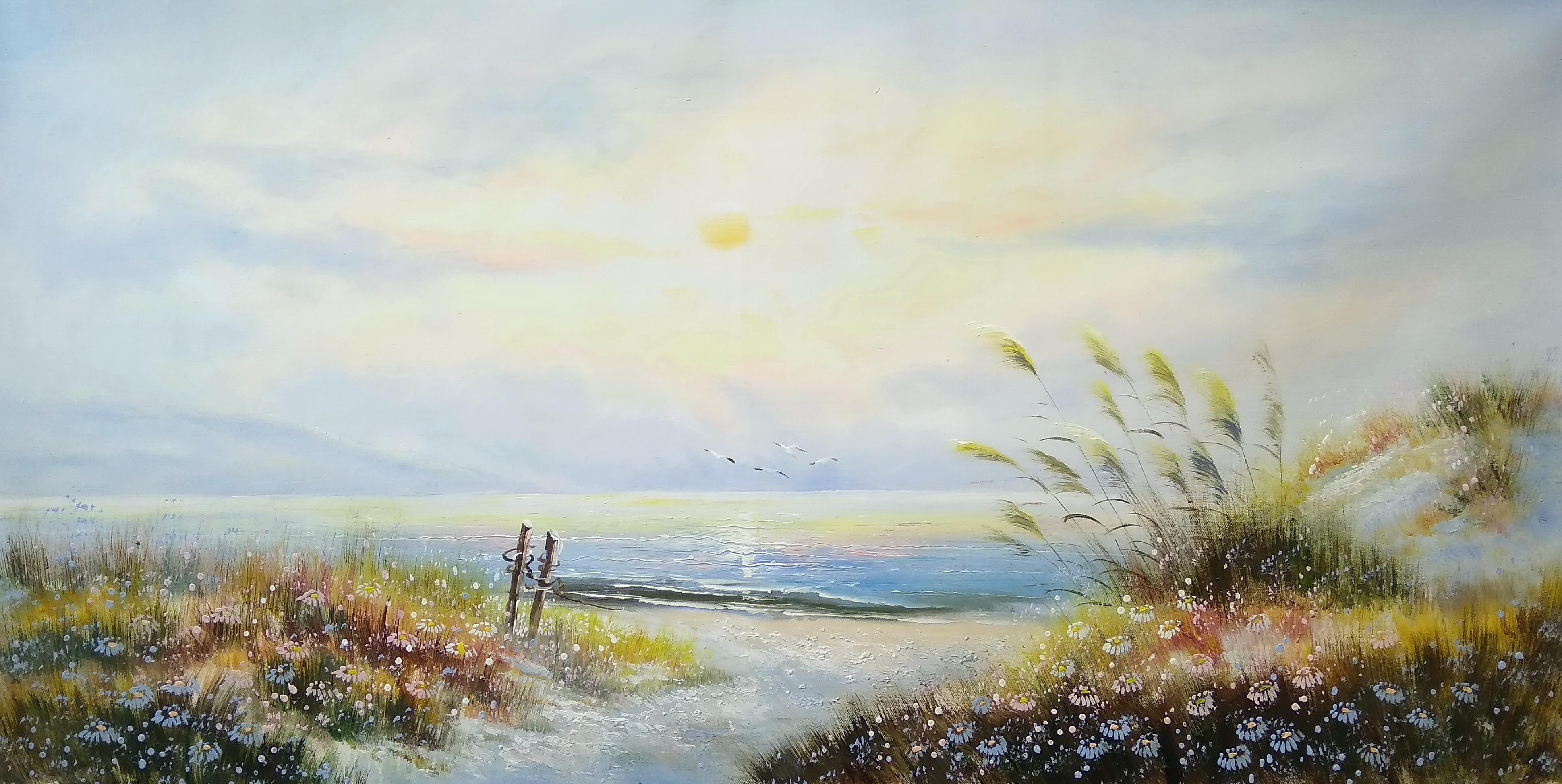 «Морской пейзаж» Картина 60х120 арт. Б016