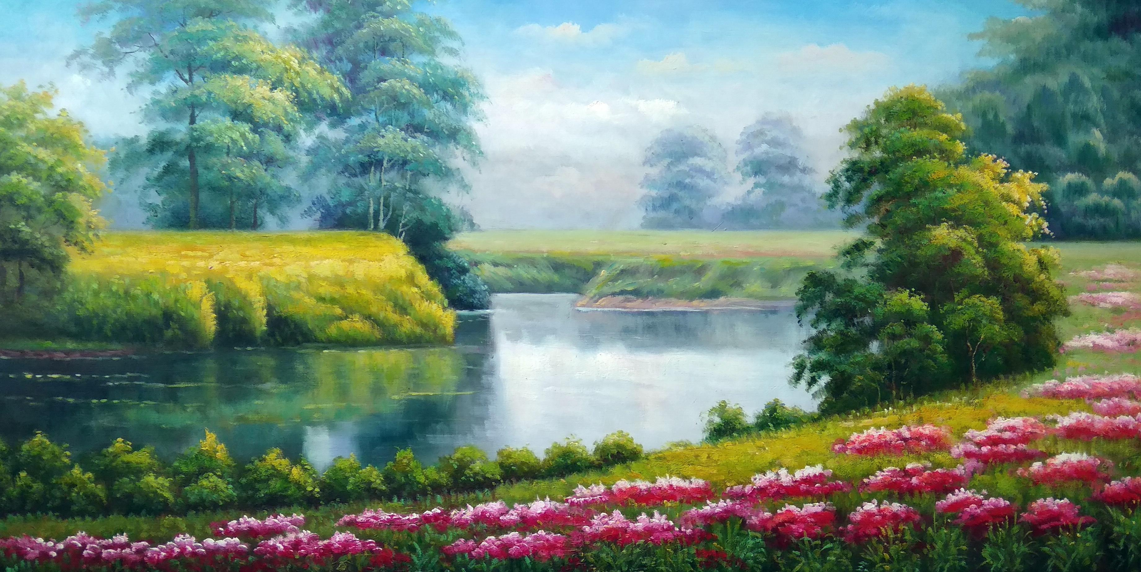 «Маглуша» Картина 60х120 арт. Р017