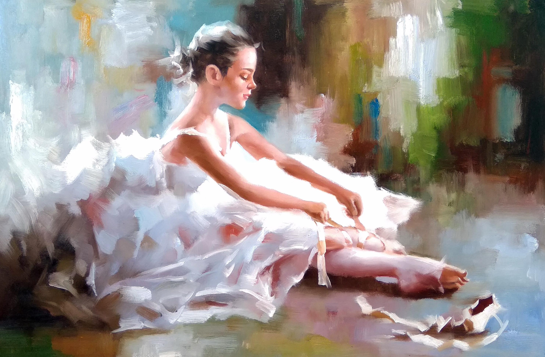 «Балерина» Картина 60х90 арт. 9Р003