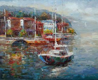 «Южный берег» Картина 50х60 арт. С042