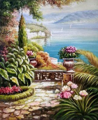 «Вид на залив» картина 50х60 арт.5с050