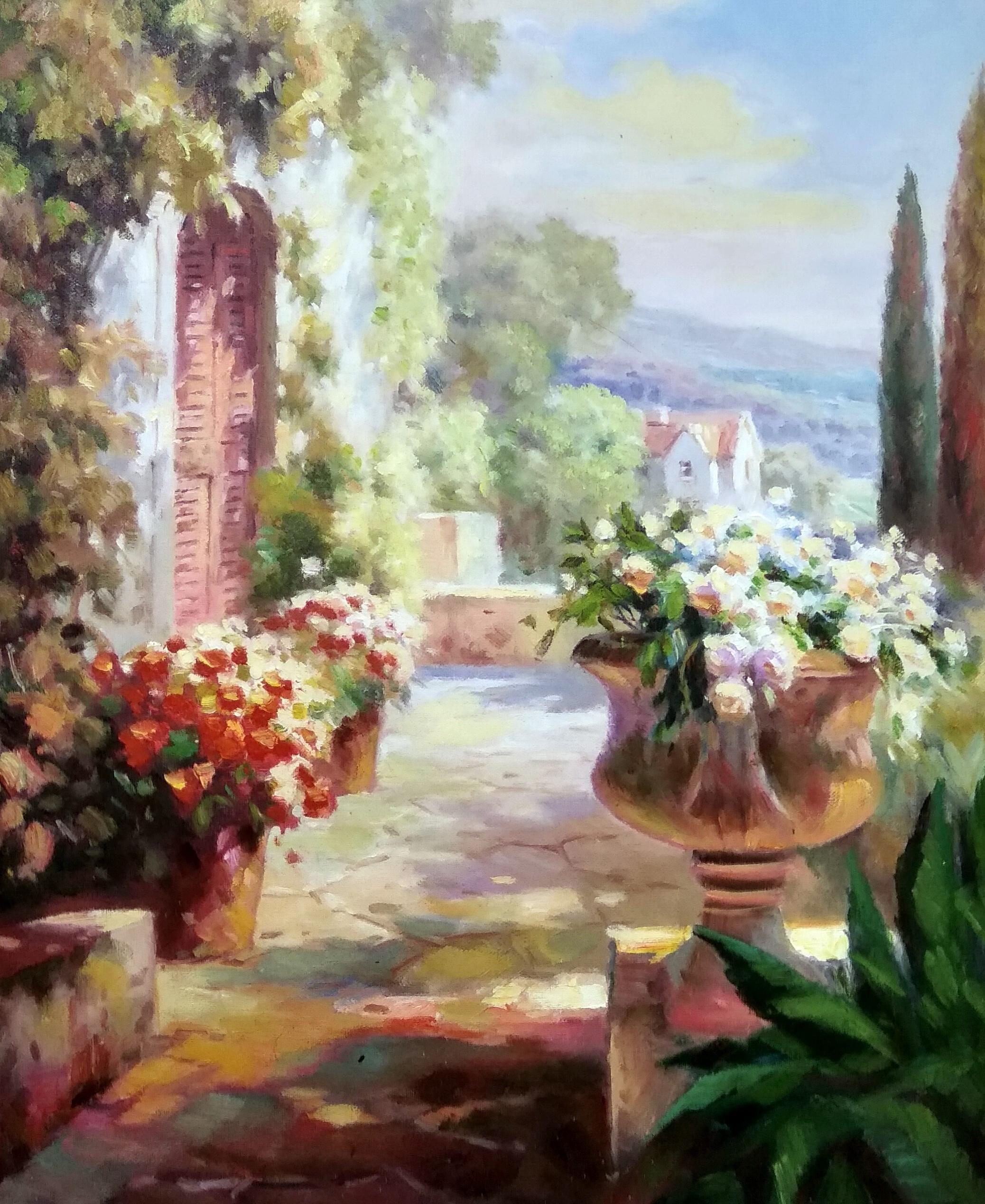 «Солнечная веранда» картина 50х60 арт.5с051