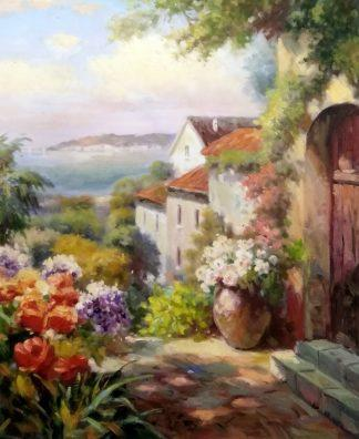 «Вид на залив» картина 50х60 арт.5с052