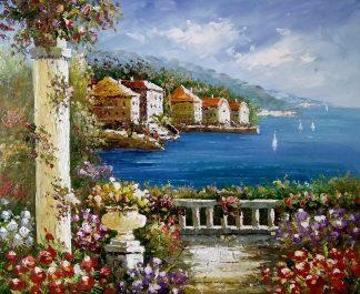 «Средиземноморье» картина 50х60 арт.5с053