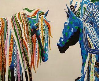 «Лошади» Картина 50х60 арт. А101