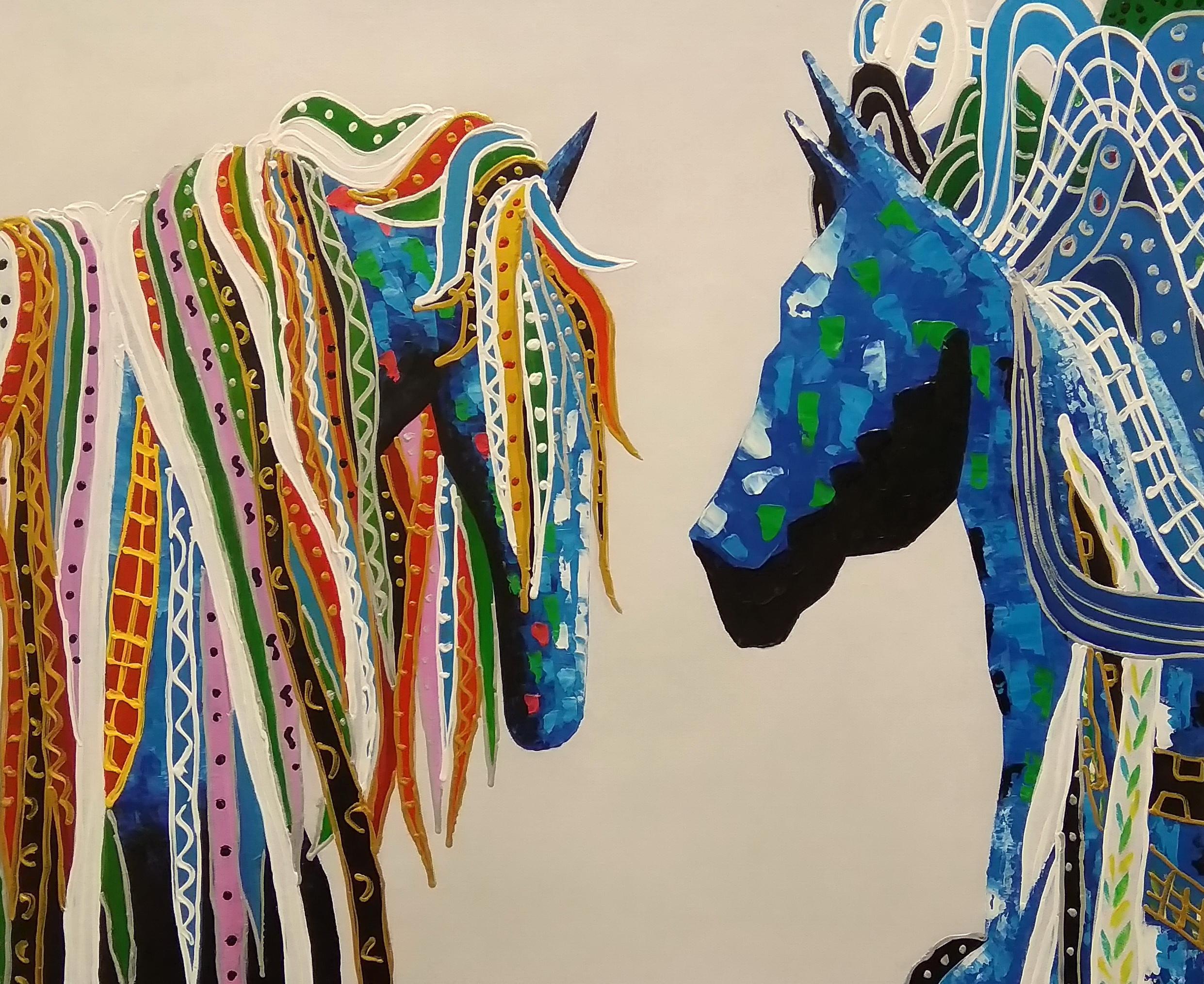 «Лошади» Картина 50х60 арт. 5А101