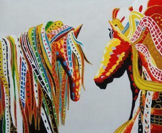 «Лошади» Картина 50х60 арт. А102