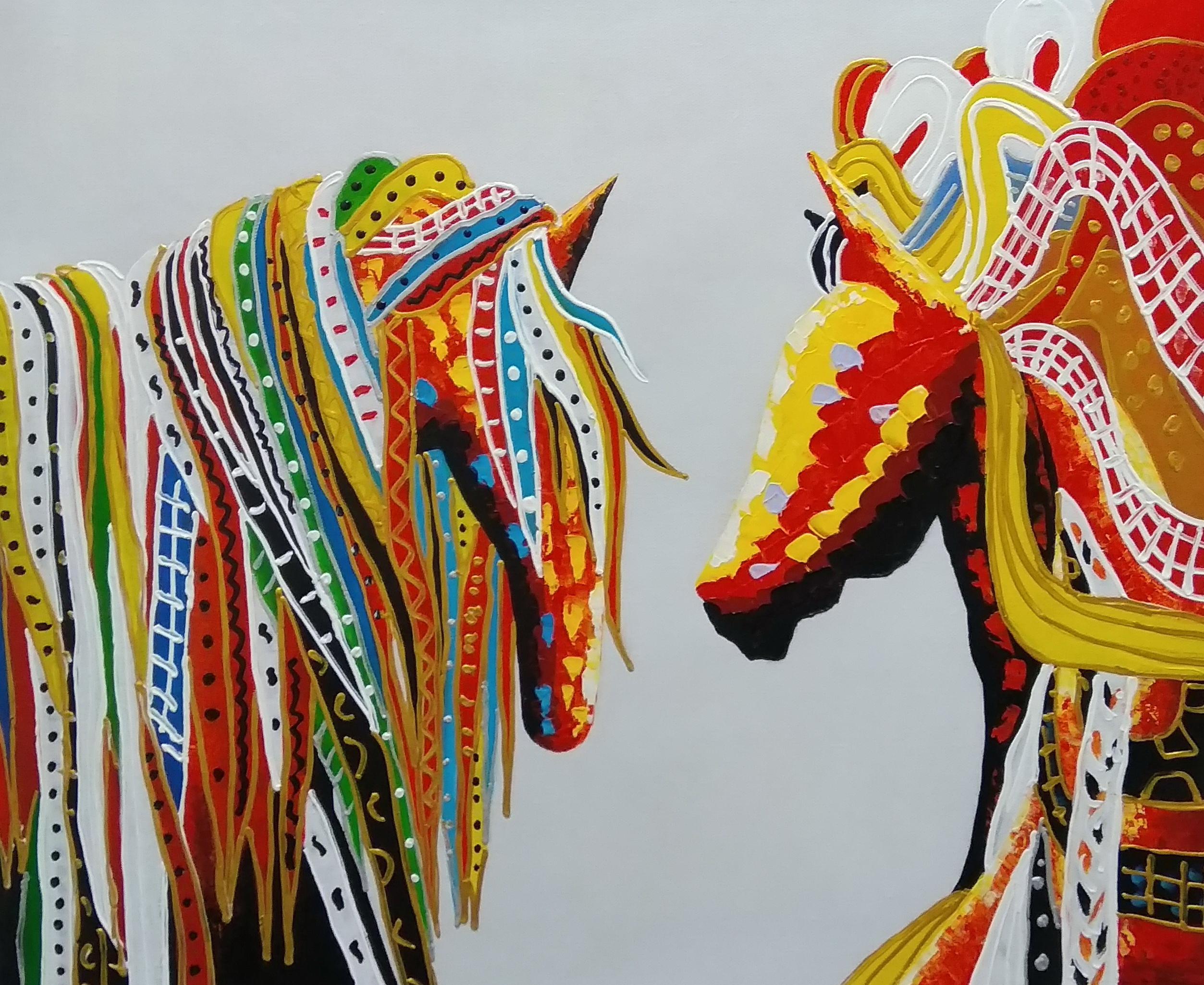 «Лошади» Картина 50х60 арт. 5А102