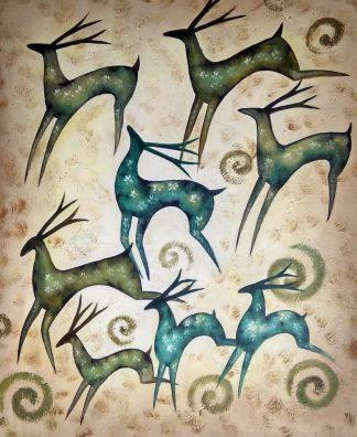 «Олени» картина 50х60 арт.5а112