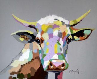 «Бурёнка» картина 50х60 арт.5а116