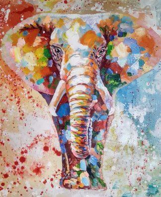 «Слон» картина 50х60 арт.5а118
