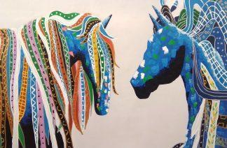 «Лошади» Картина 60х90 арт. 9А001