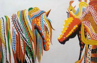 «Лошади» Картина 60х90 арт. 9А002