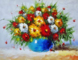 «Яркий букет» картина 30х40 3ц065