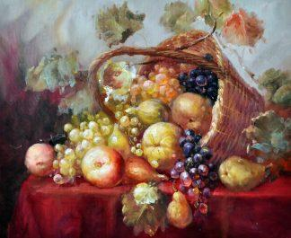 «Фрукты в корзине» картина 50х60 5ц311