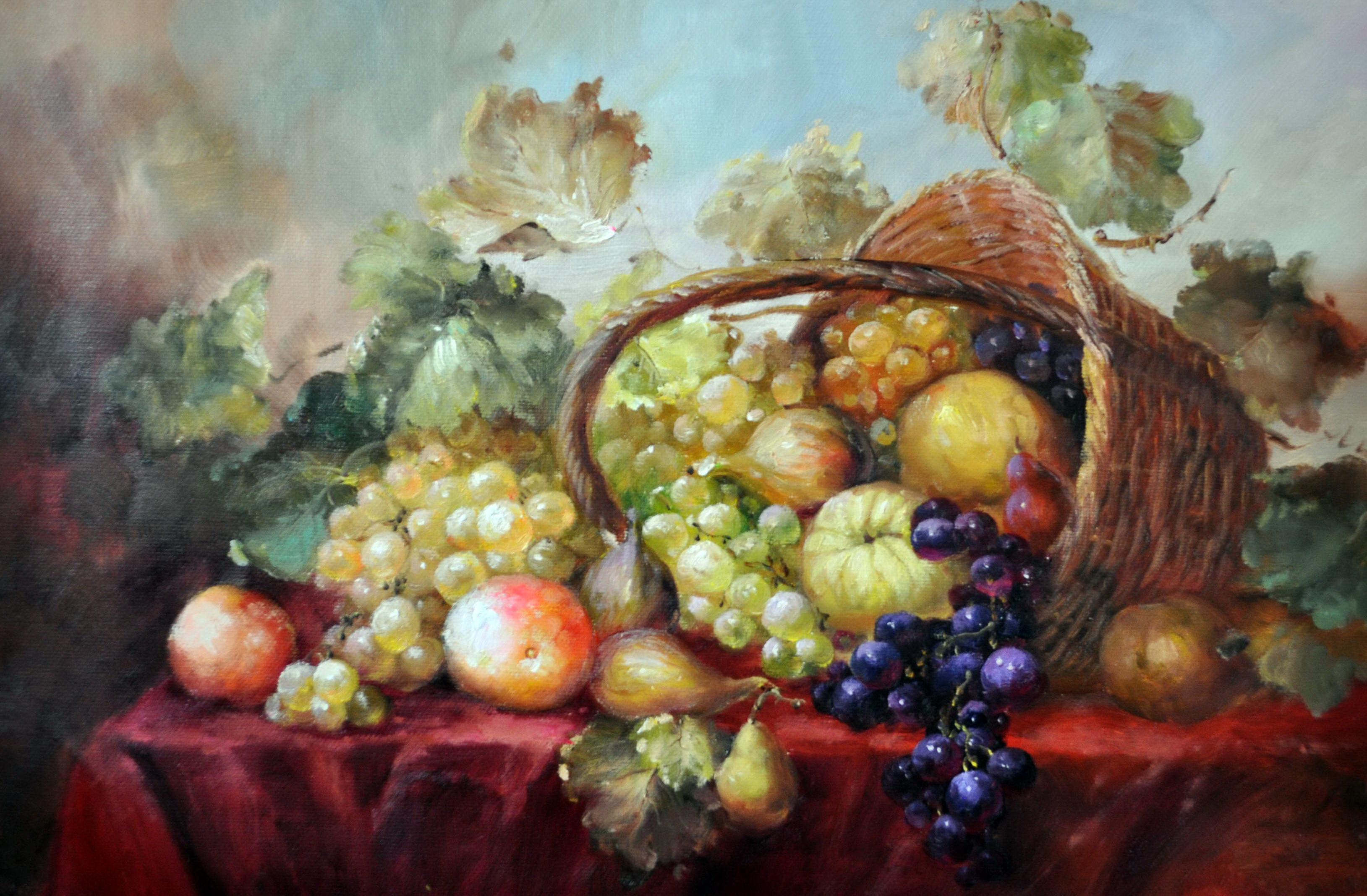 «Летняя карзина» картина 60х90 9ц025