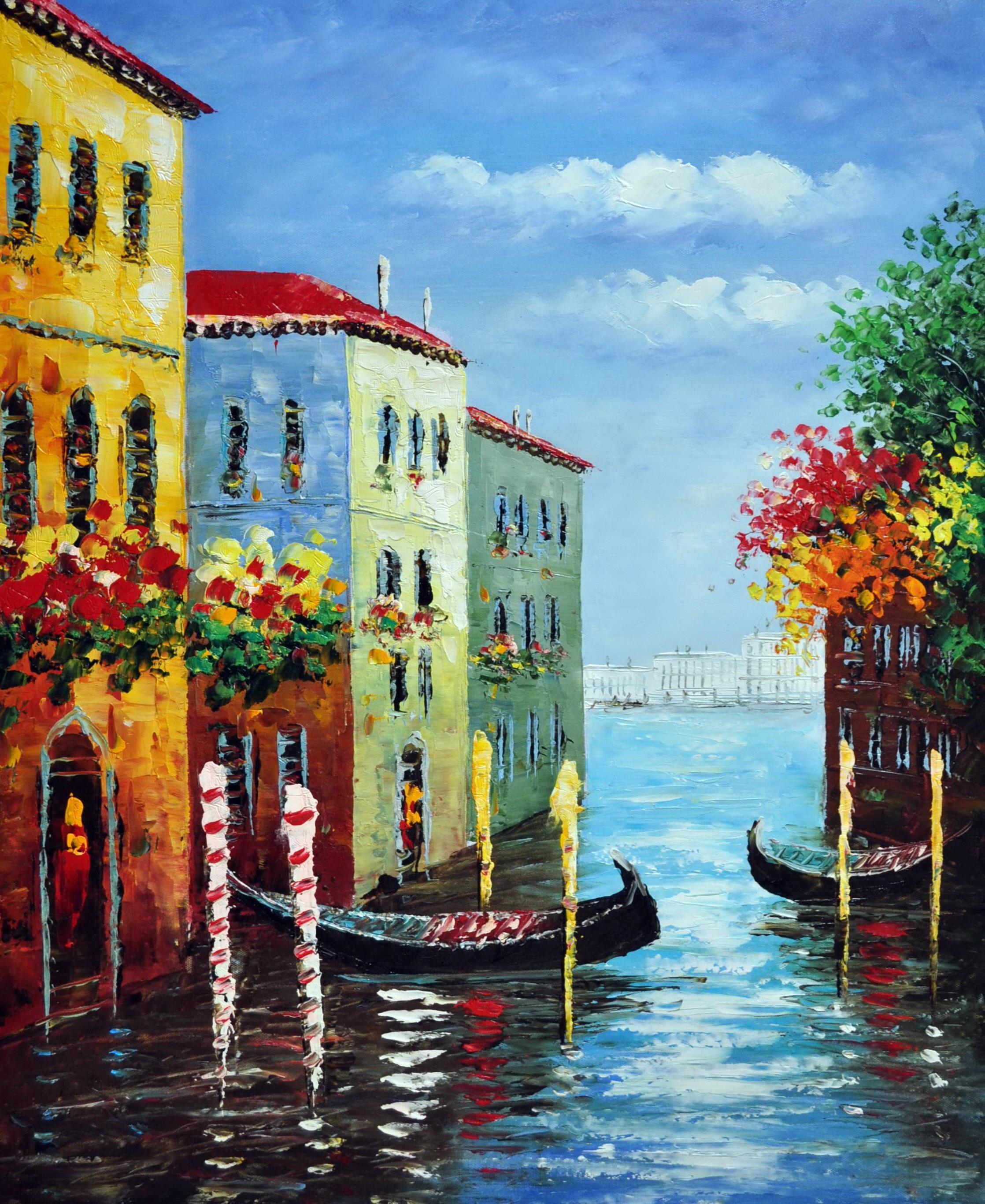 «Каналы Венеции» картина 50х60 5гр290
