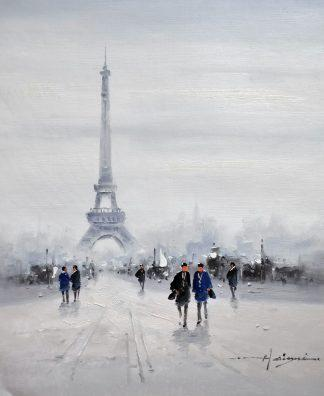 «Эйфелева башня» картина 50х60 5гр292