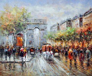 «Триумфальная арка» картина 50х60 5гр300