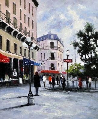 «Центральная улица» картина 50х60 5гр302