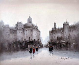 «Московские улицы» картина 50х60 5гр303
