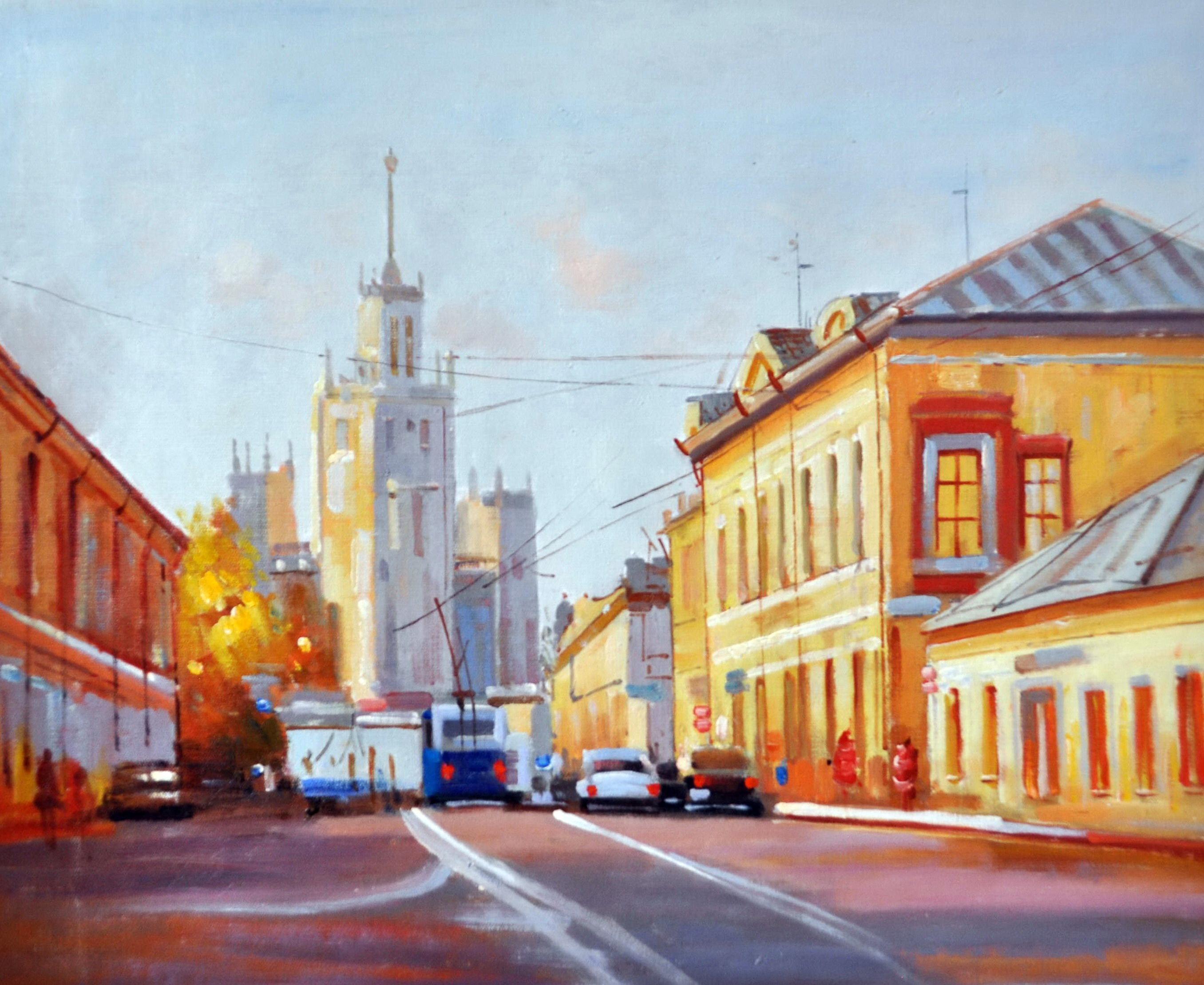 «Москва» картина 50х60 5гр305