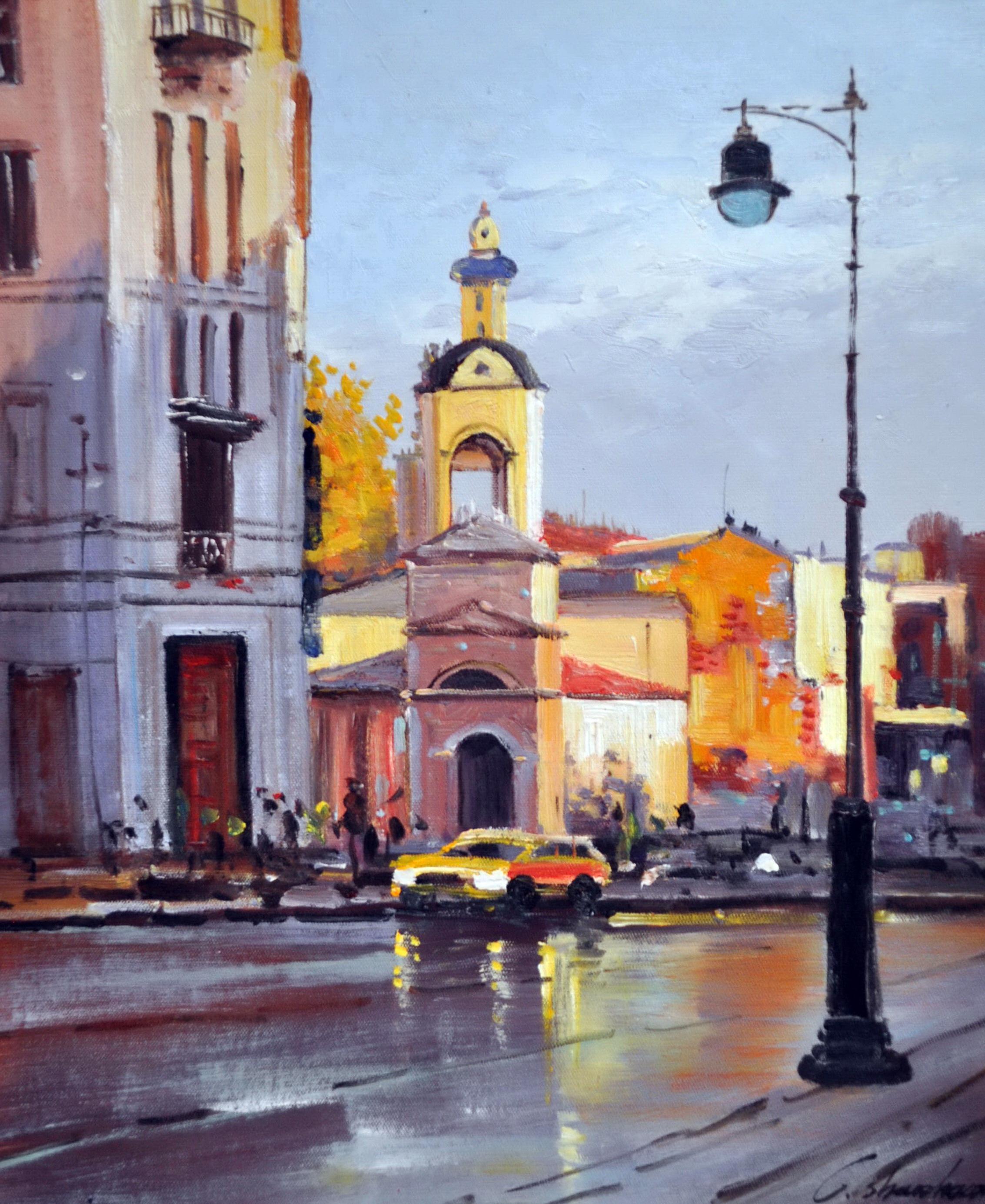 «Москва» картина 50х60 5гр306