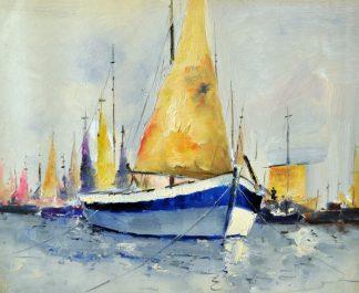«Яхта» картина 50х60 5к055