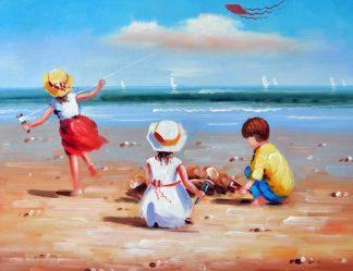 «Каникулы на море» картина 30х40 3р074