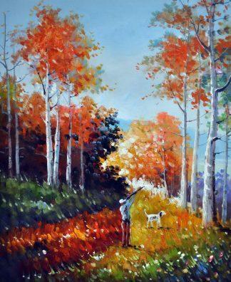 «Охотник» картина 50х60 5р174