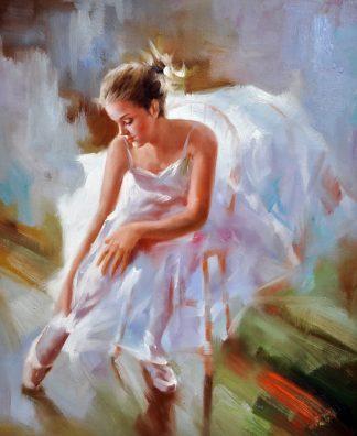 «Балерина» картина 50х60 5р175