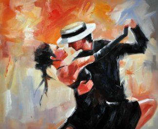 «Аргентинское танго» картина 50х60 5р179