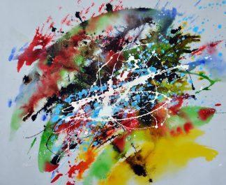 «Абстракция» картина 50х60 5р180