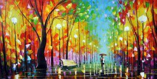 «Прогулка» картина 60х120 б055