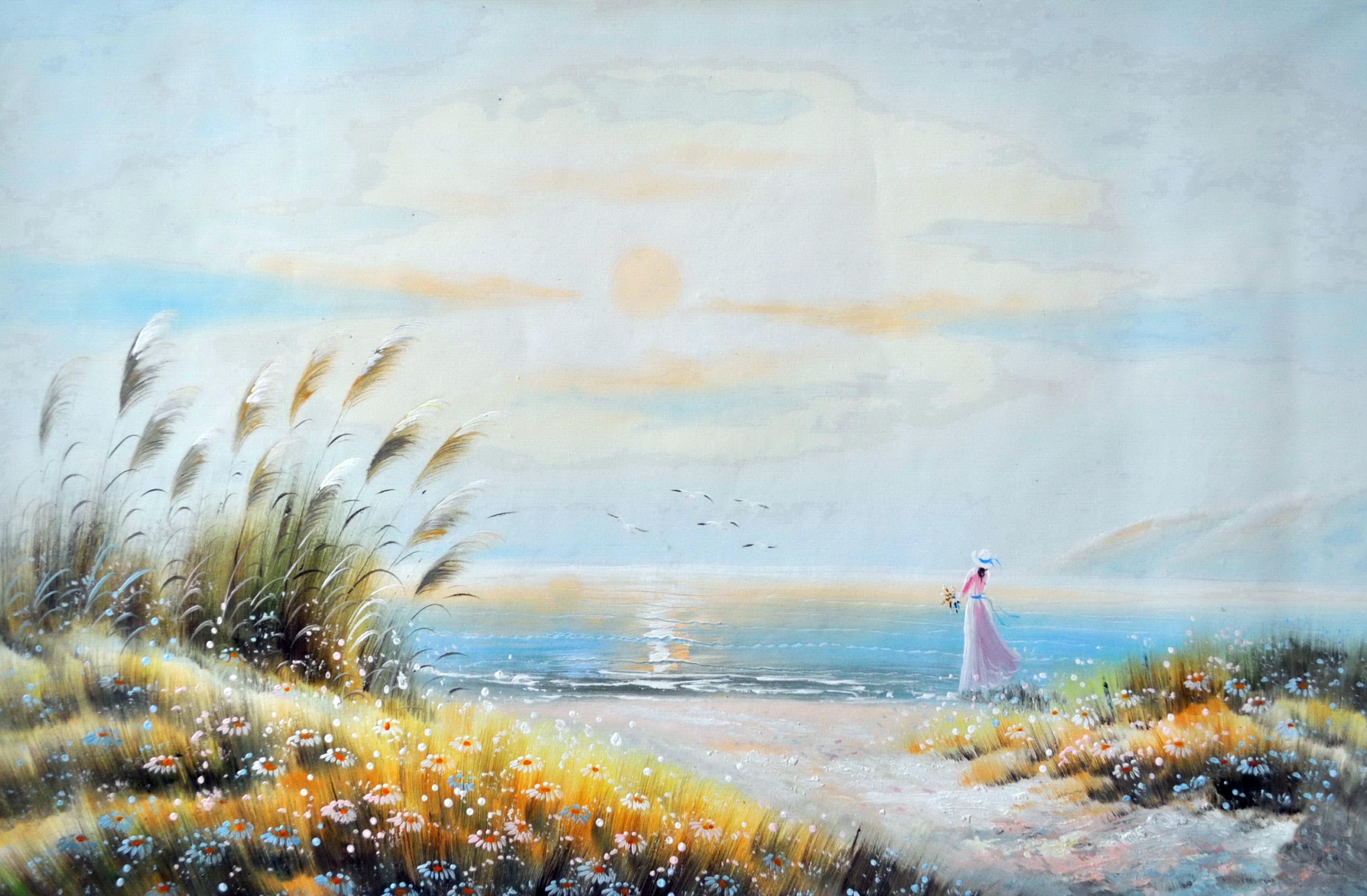 «У моря» картина 60х90 9р016