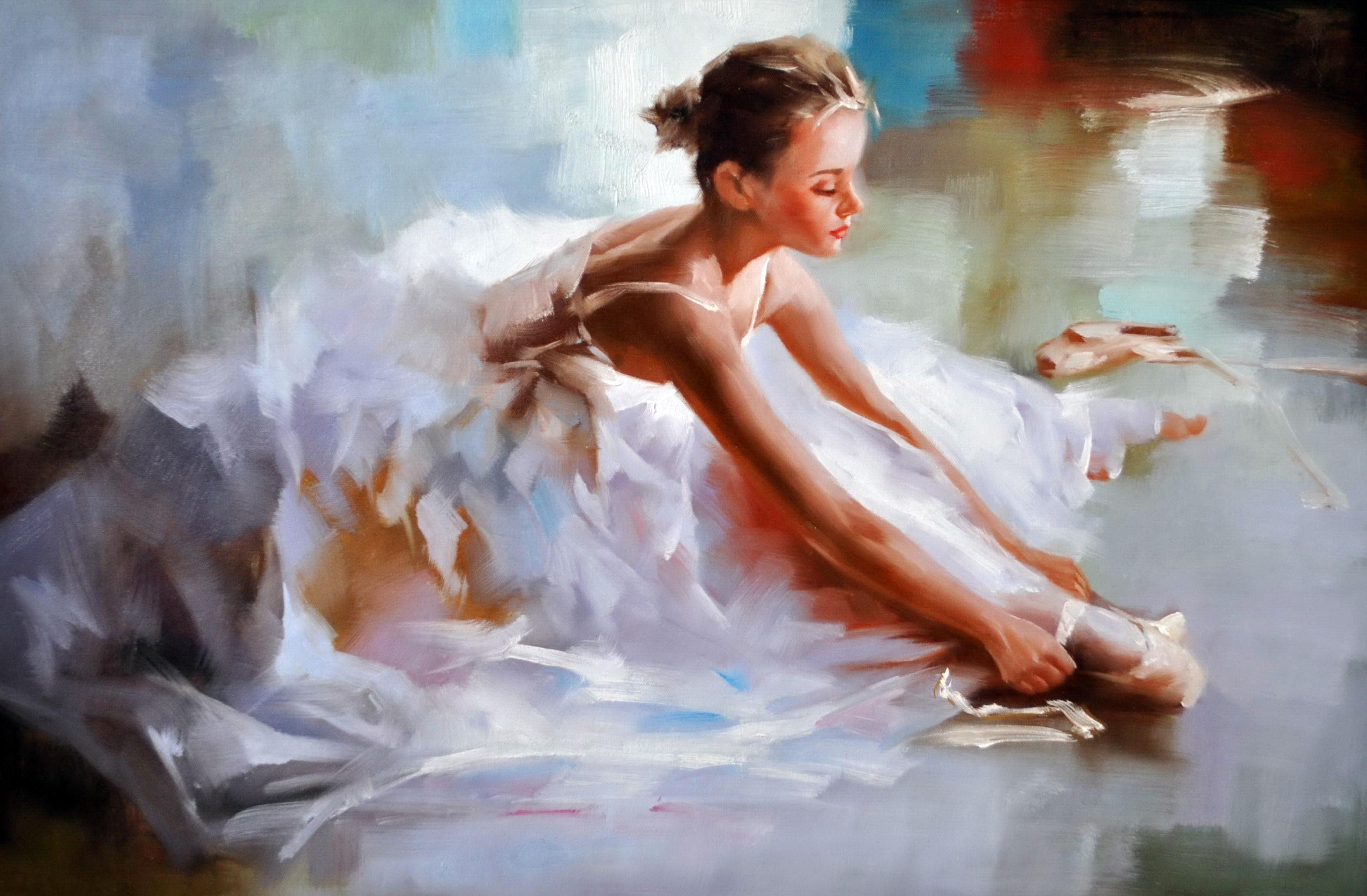 «Пуанта» картина 60х90 9р018