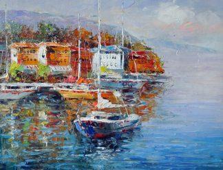 «Яхта» картина 30х40 3с050