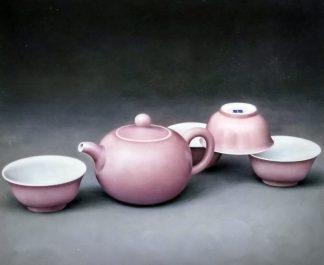 «Розовый фарфор» картина 50х60 5ц330