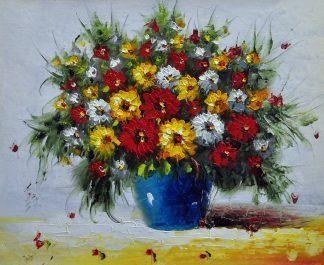 «Полевые цветы» картина 50х60 5ц332